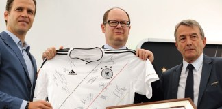 DFB schenkt Gastgeber Trainingsplatz - «Danzig gute Wahl»