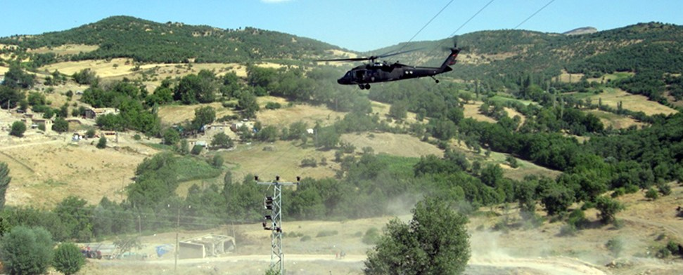 Drogenfelder der PKK vernichtet