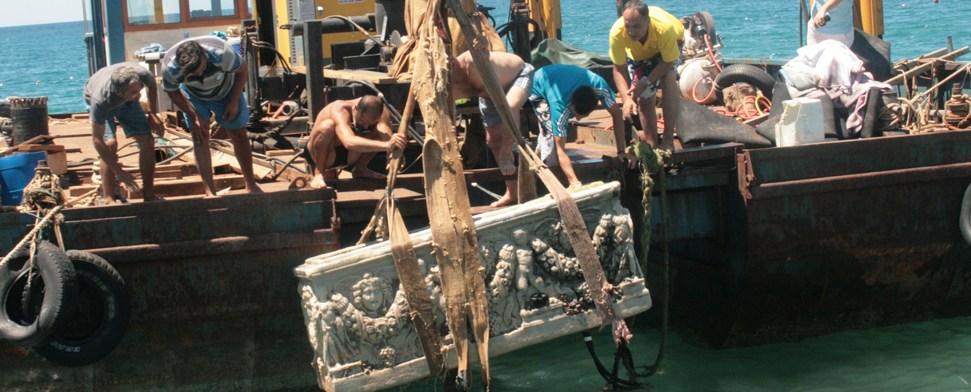 Sarkophag bei Antalya entdeckt