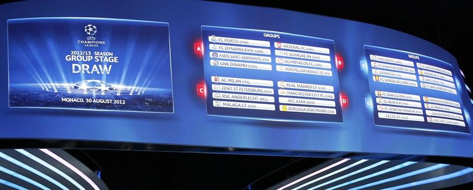 """Bayern und Schalke mit Losglück, BVB in """"Meistergruppe"""""""