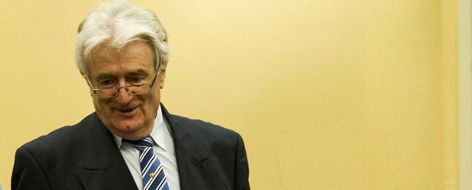 """Karadzic zynisch: """"Ich sollte ausgezeichnet werden"""""""