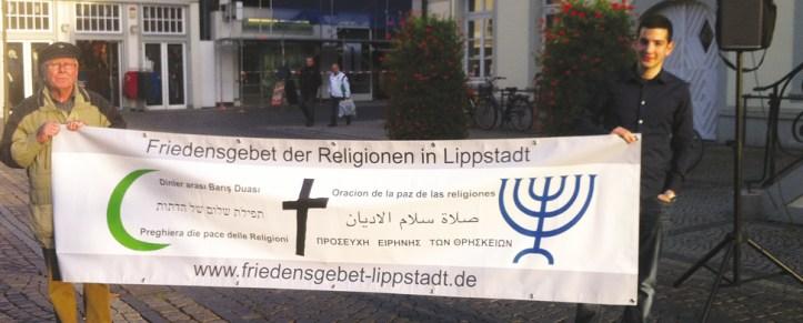 Friedensgebet der Religionen in Lippstadt