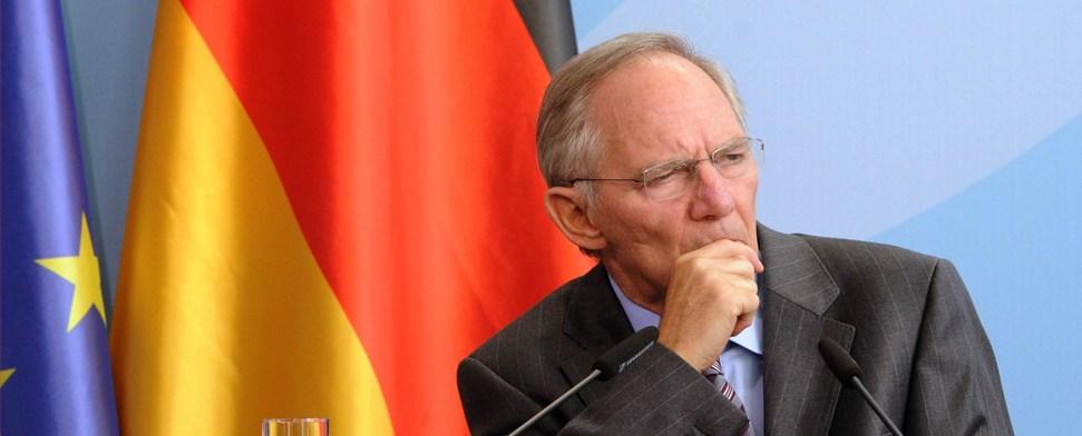 Schäuble will Vertragsänderungen in der EU