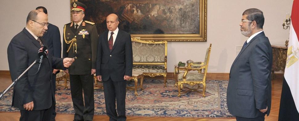 Moderne ägyptische Alleinherrscher: Nasser, as-Sadat, Mubarak - Mursi?