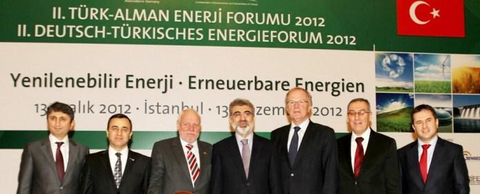 Deutsch-Türkisches Energieforum setzt auf erneuerbare Energien