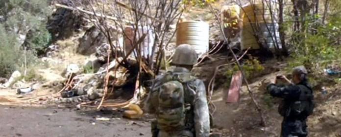 Şemdinli: Drei Kilometer lange illegale Öl-Pipeline gefunden