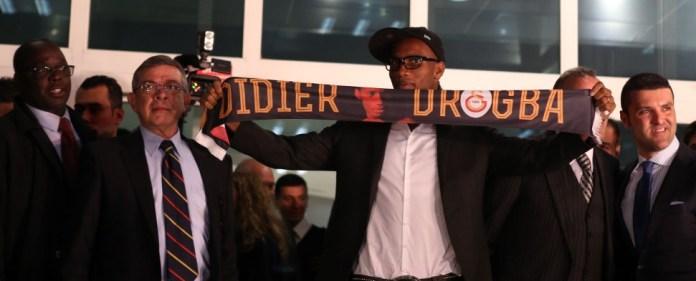 Galatasaray-Transfer Didier Drogba in Istanbul gelandet