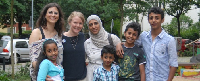 """Schülerpaten Berlin e.V."": Projekt für arabische Kinder in Berlin"