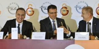 Opel und Galatasaray Istanbul kooperieren