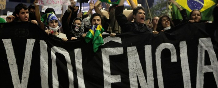 Wutbürgerproteste erfassen nun auch Brasilien