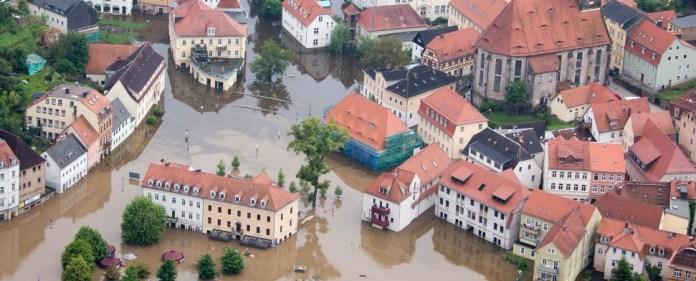 Dammbruch in Sachsen-Anhalt