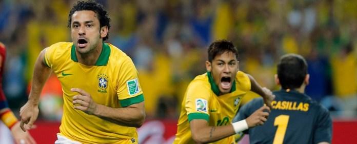 Neymar und Fred führen Weltmeister Spanien vor - 3:0