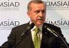 Erdogan spricht am 12.09.2013 auf einer Veranstaltung von TÜMSIAD.