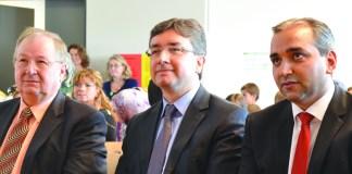 Heinz Buschkowsky in der TÜDESB-Grundschule in Berlin-Treptow.