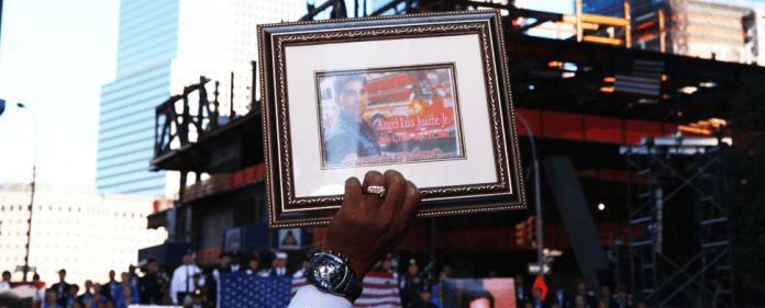 Trauerfeier zum 11. September in New York.