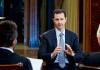 Syrischer Präsident Bashar al-Assad während eines Interviews mit Reportern vom türkischen Sender 'Halk TV' und der türkischen Zeitung 'Yurt', in Damaskus, Syrien, 01. Oktober 2013.