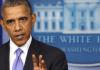 US-Präsident Obama im Weißen Haus - Einigung im Finanzstreiz
