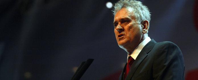 Der serbische Präsident Tomislav Nikolic