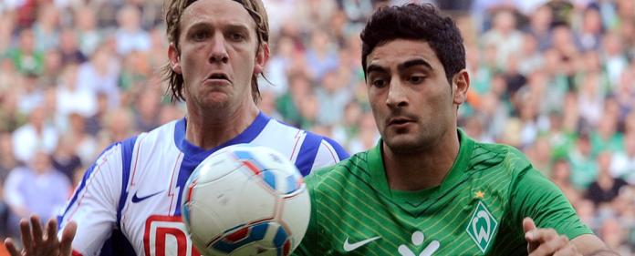 Mehmet Ekici im Spiel gegen Hertha BSC - reuters