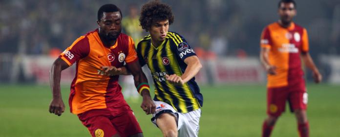 Salih Ucan im Spiel gegen Galatasaray - zaman