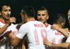 Türkische Fußballspieler im Spiel gegen Nordirland - zaman