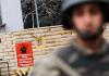 Türkische Soldaten bewachen ein Hochsicherheitsgefängnis im Osten der Türkei.