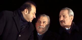 Egemen Bagis, Muammer Güler und Zafer Caglayan.