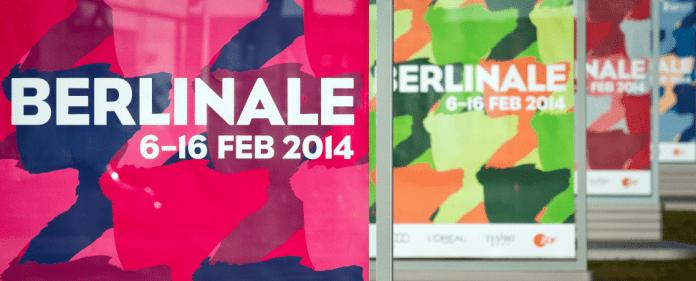 Berlinale-Plakate stehen am 14.01.2014 in Berlin. Die Filmfestspiele finden vom 06. bis 16. Februar 2014 in der Hauptstadt statt.