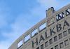 Aufnahme der staatlichen Halkbank in Istanbul