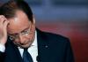 Der französische Präsident.