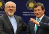 Die Außenminister der Länder Türkei und Iran - cihan