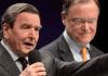 Alt-Bundeskanzler Gerhard Schröder.