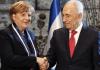 Bundeskanzlerin Merkel erhält die Präsidenten-Medaille als höchste Auszeichnung Israels