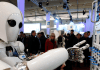 Ein Roboter,CeBIT in Hannover