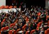 Eine Abstimmung im türkischen Parlament