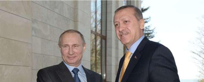 Putin und Erdogan in Sotschi.