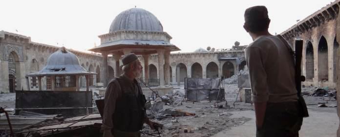 Der Krieg hinterlässt in Syrien seine Spuren. Zahlreiche historische Artefakte sind nach Jahren der Verwüstung nicht wiederzuerkennen.