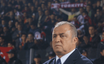 Der türkische Nationaltrainer Fatih Terim.