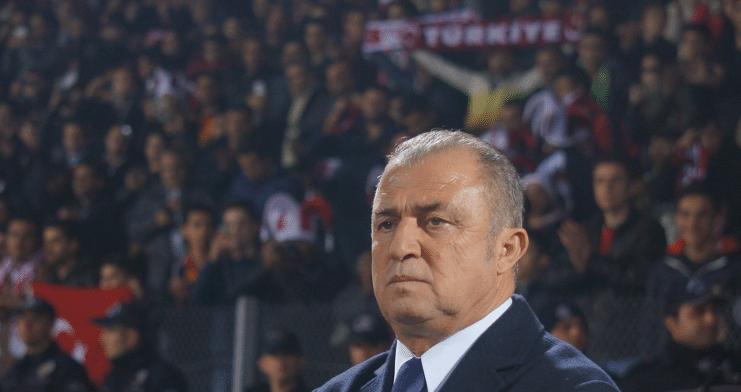 Der türkische Nationaltrainer Fatih Terim.