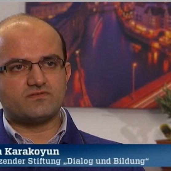 Ercan Karakoyun, Vorsitzender der Stiftung Dialog un Bildung.