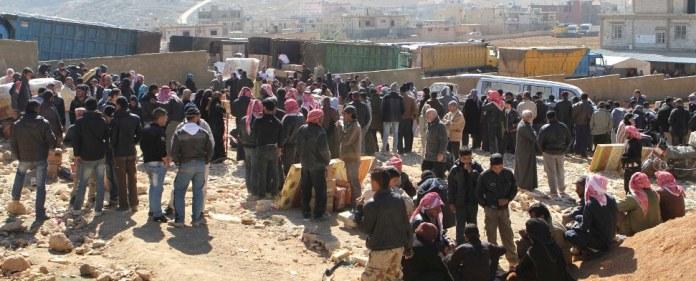 Die Zahl der syrischen Flüchtlinge ins Nachbarland Libanon hat erstmals die Millionengrenze durchbrochen. Der Konflikt im Nachbarland belastet das kleine Land schwer.