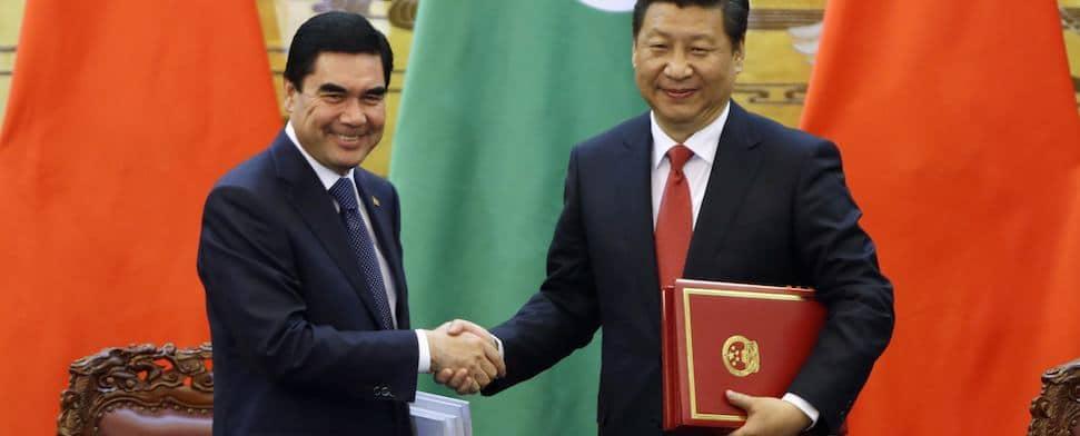 Während das Abenteuer europäische Außenpolitik im Osten seinen unbestimmten Lauf nimmt und Deutschland versucht, das Schlimmste in der Ukraine zu verhindern, baut China beharrlich an einer neuen Sicherheitsarchitektur in Mittelasien.