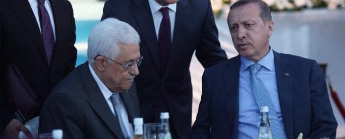 Abbas und Erdogan in Istanbul.
