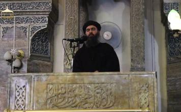 Anführer des IS, Abu Bakr al-Baghdadi. Die Gruppe wird für etliche grausame Verbrechen verantwortlich gemacht. (dpa)