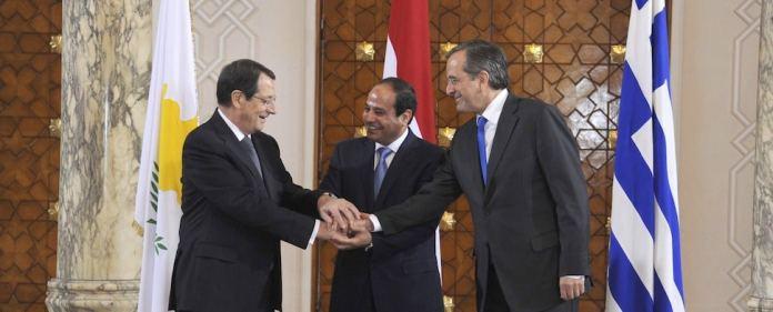 Energie-Politik: Die Mittelmeerländer Ägypten, Zypern und Griechenland bauen ihre Partnerschaft im östlichen Mittelmeer aus. Bei dem Bündnis geht es vor allem um das Erdgas vor der Küste Zyperns. (rtr)