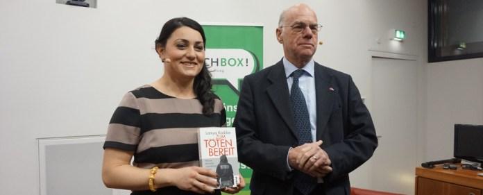 Lamya Kaddor mit Norbert Lammert