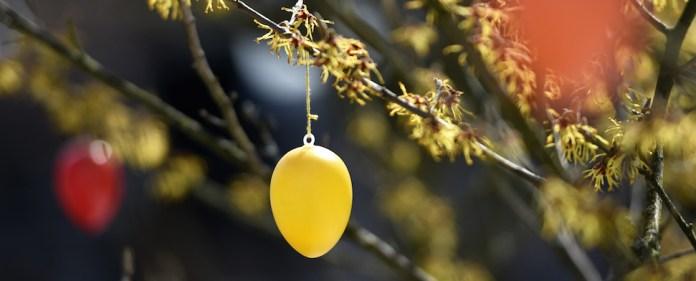 Am Ostersonntag feiern die Christen ihr Fastenbrechen.