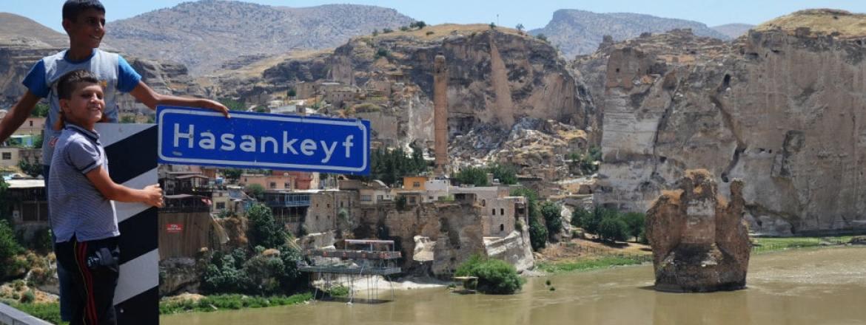 Staudamm-Projekt in Hasankeyf: 600 Jahre altes Grabmal wird umgesetzt