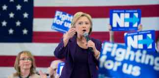 Hillary Clinton im Wahlkampf