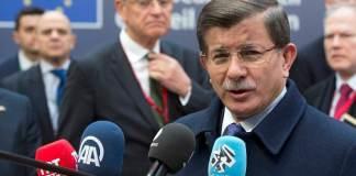 Ahmet Davutoğlu in Brüssel